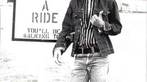 """Clothing became another way for young people to challenge norms and minimize the gender gap, paving the way for the mainstreaming of jeans across all spectrums of society. Shown here in 1975, <a href=""""http://ireport.cnn.com/docs/DOC-970927"""">Jim Heston</a> wore the belt buckle on the side of his waist."""