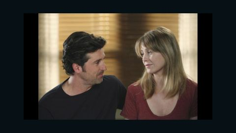 """""""Grey's Anatomy"""" star Patrick Dempsey's character Derek Shepherd -- aka Dr. McDreamy -- <a href=""""http://www.cnn.com/2015/04/24/entertainment/greys-anatomy-character-killed-off/index.html"""" target=""""_blank"""">died in a car wreck.</a>"""
