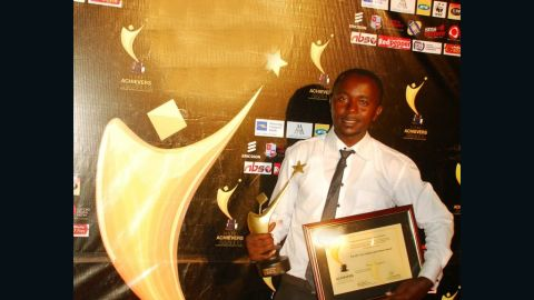 For his work over the years, the talented artist has won several accolades, including the Ugandan Young Achievers award 2011.