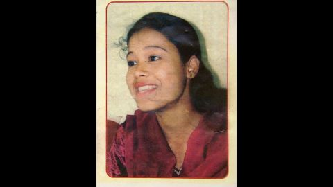 Mukherjee as she looked before being attacked with acid.