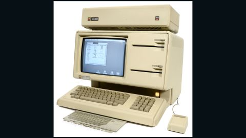 The Apple Lisa, from 1983, was produced for only one year, and was one of the world's first mouse-controlled computers. It is now extremely rare.
