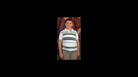 Christopher Legg, 9, died in the twister.