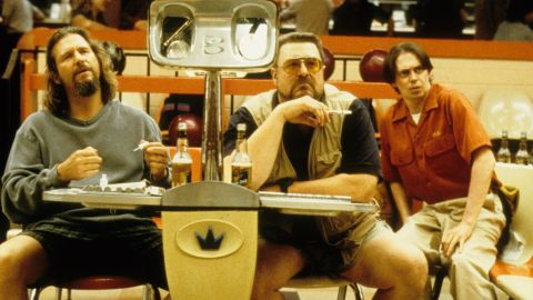"""<strong>""""The Big Lebowski"""" (1998)</strong>: When The Dude gets mixed up with The Big Lebowski, his friends and bowling buddies (as played by John Goodman and Steve Buscemi) have his back."""