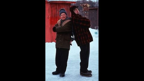 """<strong>""""Grumpy Old Men"""" (1993)</strong>: As former friends who later became epic rivals, Jack Lemmon's John and Walter Matthau's Max showed in this comedy that the best comrades can also make the worst enemies."""