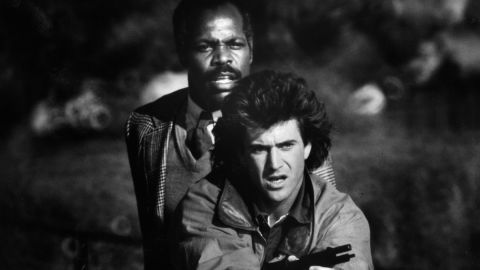 """<strong>""""Lethal Weapon"""" (1987)</strong>: The partnership between """"I'm too old for this s**t"""" Murtaugh (Danny Glover) and Riggs (Mel Gibson) may have been a reluctant one, but it's also one of the most entertaining pairings of the past 30 years. The two went on to star in three additional films in the franchise."""