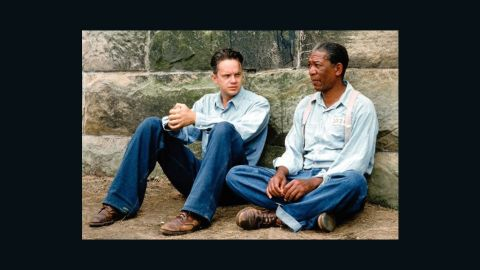 """<strong>""""Shawshank Redemption"""" (1994)</strong>: This story of two men who form a lasting friendship while in prison is a drama rather than the usual buddy movie comedy, but the work of Morgan Freeman and Tim Robbins is a duo performance at its finest."""