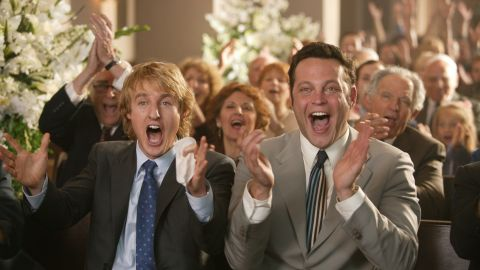 """<strong>""""Wedding Crashers"""" (2005)</strong>: Vince Vaughn was once again portraying the brash playboy to great effect in """"Wedding Crashers,"""" which also starred Owen Wilson as Vaughn's more sensitive party-crashing cohort."""