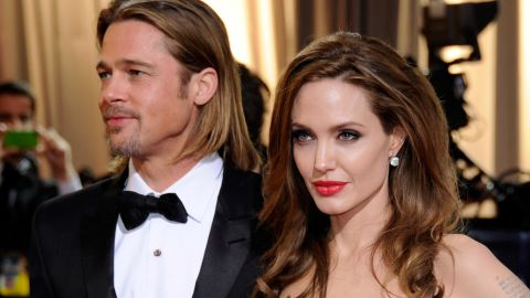 """<a href=""""http://marquee.blogs.cnn.com/2010/08/13/angelina-jolie-on-why-brad-pitt-is-the-one/"""" target=""""_blank"""">Angelina Jolie and Brad Pitt, parents of six</a>: """"Once every week or two weeks we'll ask somebody to spend the night, so we can go and be alone together. We just go to another part of the house and lock the door."""""""