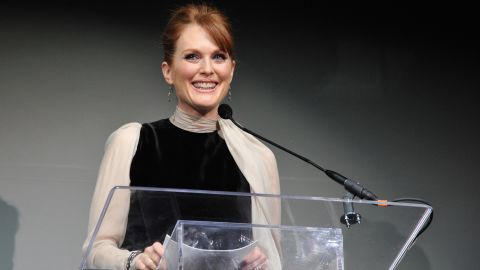 """During a 2002 interview on """"<a href=""""http://www.bravotv.com/inside-the-actors-studio"""" target=""""_blank"""" target=""""_blank"""">Inside the Actor's Studio</a>,"""" actress Julianne Moore was asked what she would like to hear God say to her at the gates of heaven. She replied, """"Well, I guess you were wrong. I do exist."""""""