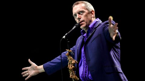 """British actor Hugh Laurie, known for his lead role on the medical drama """"House,"""" confirmed his atheism <a href=""""http://www.dailytelegraph.com.au/entertainment/man-about-the-house/story-e6frewt9-1111114738268"""" target=""""_blank"""" target=""""_blank"""">in a 2007 interview</a> with The Sunday Telegraph. """"I don't believe in God,"""" he said, """"but I have this idea that if there were a God, or destiny of some kind looking down on us, that if he saw you taking anything for granted, he'd take it away."""""""