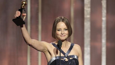 """Actress Jodie Foster <a href=""""http://www.ew.com/ew/article/0,,20054140_3,00.html"""" target=""""_blank"""" target=""""_blank"""">told Entertainment Weekly in 2007</a> that she was an atheist. She added, """"But I absolutely love religions and the rituals. Even though I don't believe in God, we celebrate pretty much every religion in our family with the kids."""""""