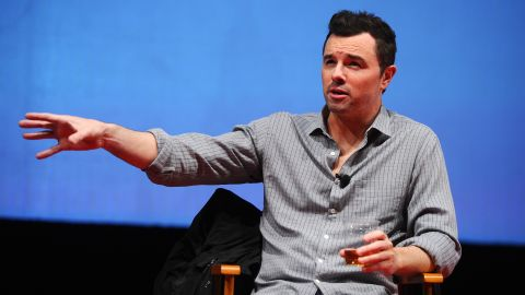 """Seth MacFarlane, creator of the animated series """"Family Guy,"""" has become vocal about his atheism. Asked about it <a href=""""http://www.esquire.com/features/the-screen/seth-macfarlane-interview-0909"""" target=""""_blank"""" target=""""_blank"""">in a 2009 interview</a> with Esquire, he said, """"It's like the civil-rights movement. There have to be people who are vocal about the advancement of knowledge over faith."""""""