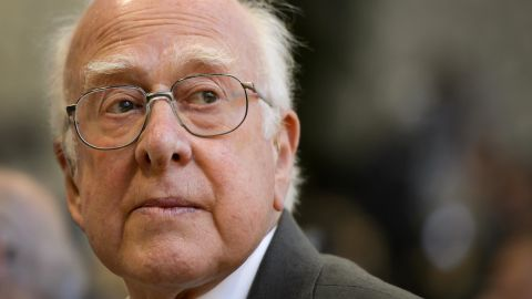 """British physicist Peter Higgs is among those credited with the theory behind the Higgs boson, a subatomic particle long thought to be a fundamental building block of the universe. <a href=""""http://www.bbc.co.uk/news/uk-scotland-22073084"""" target=""""_blank"""" target=""""_blank"""">In an interview with the BBC</a>, he expressed his discomfort with people calling it the """"God particle."""" He said, """"First of all, I'm an atheist. The second thing is I know that name (started as) a kind of joke and not a very good one. ... It's so misleading."""""""