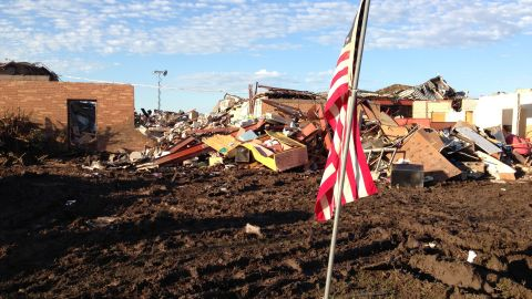 Plaza Towers Elementary in Moore, Oklahoma.