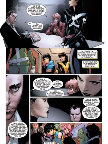 """This series is a relaunch of an """"X-Men"""" title that began in 2010. The original """"X-Men"""" title's first issue was the best-selling comic book of all time in 1991."""