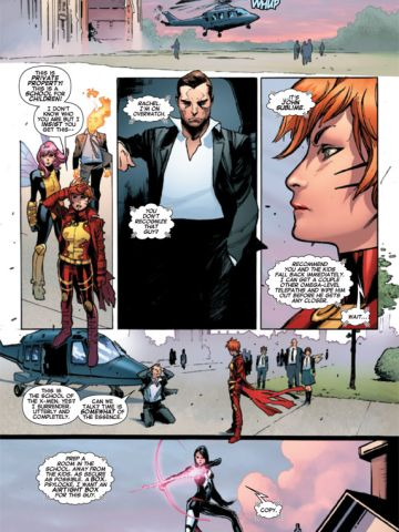 """The title is the latest in the <a href=""""http://www.cnn.com/2012/11/06/showbiz/gallery/marvel-then-now"""">Marvel Now</a> line, intended as jumping-on points for new readers."""