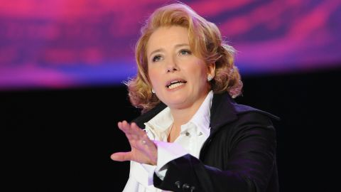 """British actress Emma Thompson said <a href=""""http://www.theaustralian.com.au/arts/acting-on-outspoken-beliefs/story-e6frg8n6-1111117752031"""" target=""""_blank"""" target=""""_blank"""">in a 2008 interview</a>, """"I'm an atheist; I suppose you can call me a sort of libertarian anarchist. I regard religion with fear and suspicion. It's not enough to say that I don't believe in God. I actually regard the system as distressing: I am offended by some of the things said in the Bible and the Quran, and I refute them."""""""