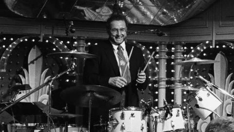 """<a href=""""http://www.cnn.com/2013/05/26/showbiz/ed-shaughnessy-dies/index.html"""">Ed Shaughnessy</a>, the longtime drummer for """"The Tonight Show Starring Johnny Carson,"""" died May 24. He was 84."""