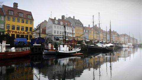 """A general view of a canal in the Nyhaven area of  Copenhagen in 2009. Denmark is the world's happiest nation, according to the <a href=""""http://unsdsn.org/wp-content/uploads/2014/02/WorldHappinessReport2013_online.pdf"""" target=""""_blank"""" target=""""_blank"""">2013 World Happiness Report</a> from Columbia University's Earth Institute. The report was issued in September."""