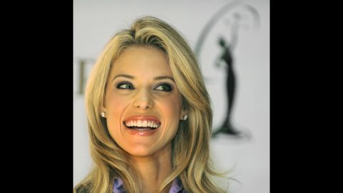 """Carrie Prejean was stripped of her Miss California USA title in 2009 after a <a href=""""http://edition.cnn.com/2009/SHOWBIZ/11/04/miss.california.usa.settlement/"""">long legal battle</a> with the contest. The contest dethroned her and said lingerie-modeling photos emerged that breached her contract. Prejean sued, claiming that her firing was religious discrimination because of her opposition to same-sex marriage, and the pageant countersued. The conflict ultimately ended after the revelation of a """"sex tape."""""""