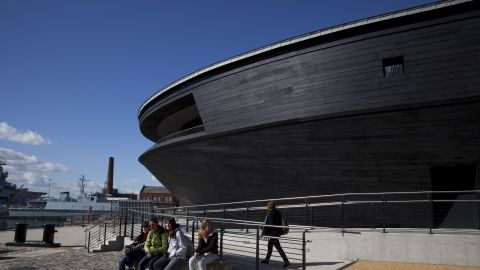 The Mary Rose Museum in Portsmouth's Historic Dockyard is the new home to warship, and some of the 19,000 artifacts that sank with her.