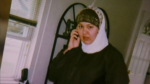 A grandmother said Nicole Mansfield was raised Christian but converted to Islam three to five years ago.