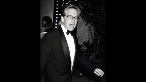 Douglas attends a ceremony for Jack Nicholson's American Film Institute 1994 Life Achievement Award at Beverly Hilton Hotel in Beverly Hills, California.