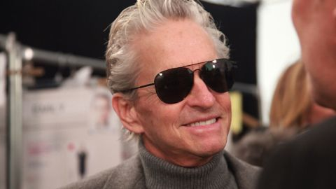 """Michael Douglas offered <a href=""""http://marquee.blogs.cnn.com/2013/06/03/did-oral-sex-bring-about-michael-douglas-cancer-diagnosis-not-exactly/"""">some interesting insight</a> as to how he may have developed the throat cancer that he was diagnosed with in August 2010. Douglas later told the """"Today"""" show that his tumor was gone."""
