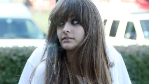 Paris Jackson attends the press conference for Goin' Back To Indiana: Can You Feel It at the Majestic Star Hotel Lakeshore Ballroom on August 29, 2012 in Gary, Indiana.