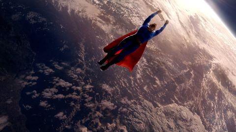 """Brandon Routh is cast in the 2006 reboot """"Superman Returns."""" It tells the story of Superman's return to Earth after five years attending to the tragic remains of his home planet, Krypton."""