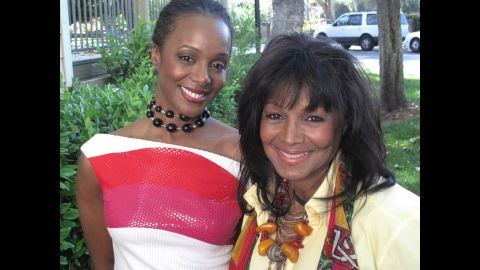 Yashi Brown, Rebbie Jackson's second child, is a poet and advocate on mental health issues.<strong> </strong>