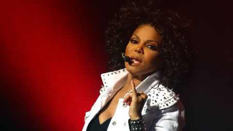 Janet Damita Jo Jackson, the youngest of the Jackson children and pop queen, had no children. Here she performs live on stage at the Sydney Opera House on November 5, 2011 in Sydney, Australia.