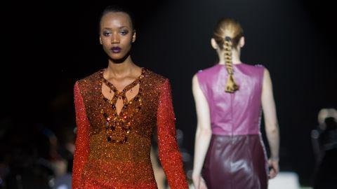 Boateng curated a fashion show featuring designers from Africa and its diaspora during the AfDB summit. The event was attended by 400 leaders of the world's banking and investment community.