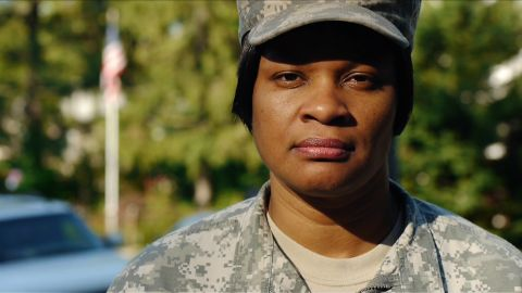 """Jaspen Boothe is committed to helping her female comrades, """"whether they're in or out of uniform."""""""