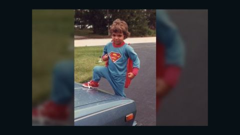 """As a child, <a href=""""http://ireport.cnn.com/docs/DOC-984390"""">Diego-Alonso Mantica's</a> memories of Superman started when he first wore his blue and red Superman pajamas, which you can see here in his 1986 photo outside his home in Miami. But as he got older, Mantica says Superman became something more for him. """"He 'ignited' me, and turned on the dormant rationale that we humans have five senses, while the reality is otherwise. We, too, can have 'superhuman' abilities,"""" he said. """"He is admired by kids because innately, we human beings choose good over evil."""""""