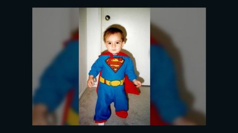 """<a href=""""http://ireport.cnn.com/docs/DOC-979561"""">Lawrence Monaco </a>is such a Superman fan that he named his son Kal-El (Superman's original name on Krypton). Here is Kal-El wearing the red and blue costume in their California home. """"Kids love capes, and Superman's cape is the coolest to them. It represents more freedom than their bicycles,"""" he said. Although a fan of Superman, Monaco thinks he is not regarded as a popular superhero the way Batman is because Superman sometimes lacks depth of character. """"We see Batman as more like us, more human with issues and internal struggles,"""" he said."""
