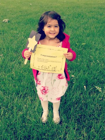 """Jesse Martinez says his daughter <a href=""""http://ireport.cnn.com/docs/DOC-984483"""">Isabella</a>'s graduation from Lindemann Elementary in Allen Park, Michigan, was """"very laid back."""" The children romped around in the park, sang songs for the attending parents and received certificates for completion of preschool."""