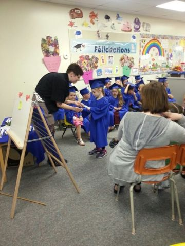 """Jean-Paul Yoko attended a preschool graduation for his girlfriend's daughter <a href=""""http://ireport.cnn.com/docs/DOC-983537"""">Adiena</a> at Ecole Guyot in Manitoba, Canada, where each child received a graduation certificate and contributed snacks and juice to the reception. He says a preschool ceremony """"gives some sort of closure to the teachers who have worked so hard with these kids throughout the year."""""""