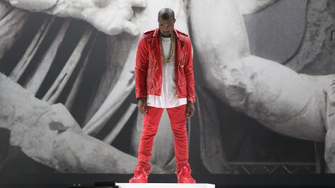 """<strong>August 2011</strong>: Still struggling with a negative public perception, <a href=""""http://marquee.blogs.cnn.com/2011/08/08/kanye-west-people-look-at-me-like-im-hitler/"""" target=""""_blank"""">West told the audience</a> gathered at the UK's Big Chill film festival, """"I walk through the hotel and I walk down the street, and people look at me like I'm f****n' insane, like I'm Hitler."""" That comparison, for obvious reasons, made international headlines."""