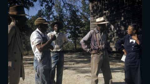 """Starting in 1932, the U.S. Public Health Service studied untreated syphilis in black men who thought they were getting free health care. The patients weren't told of their affliction or sufficiently treated. Peter Buxtun, who worked for the Public Health Service, relayed information about the <a href=""""http://www.cnn.com/2010/HEALTH/10/01/guatemala.syphilis.tuskegee/index.html"""">Tuskegee syphilis experiment</a> to a reporter in 1972, which halted the 40-year study. His testimony at congressional hearings led to an overhaul of the Health, Education and Welfare rules concerning work with human subjects. A class-action lawsuit was settled out-of-court for $10 million, with the U.S. government promising free medical care to survivors and their families. Here, participants talk with a study coordinator."""
