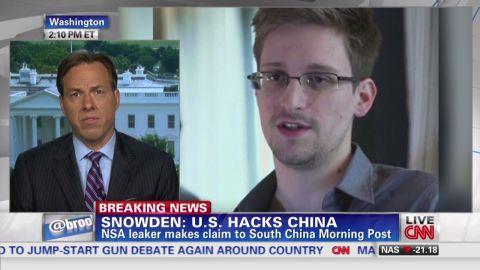 nr Edward Snowden U.S. hacks China Jake Tapper_00013215.jpg
