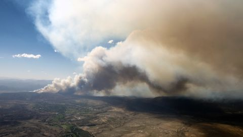High temperatures, dry brush and gusty winds are proving to be a catastrophic combination in central Colorado.