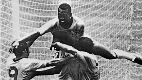The Brazil team of 1970, which beat Italy 4-1 in the World Cup final in Mexico, is widely regarded as the greatest of all time. Pele, a three-time World Cup winner seen here leaping on his teammates,  says Brazil must recover from the failure of 63 years ago.