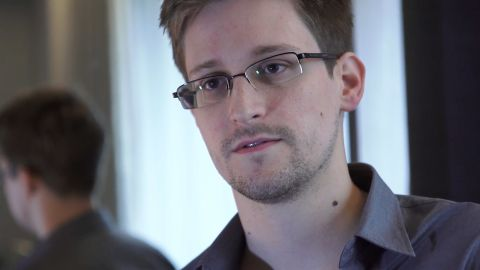 """This still frame grab recorded on June 6, 2013 and released to AFP on June 10, 2013 shows Edward Snowden, who has been working at the National Security Agency for the past four years, speaking during an interview with The Guardian newspaper at an undisclosed location in Hong Kong. Snowden, who has said he wants to apply for asylum in Russia, is studying his options and likely to make a decision shortly, a lawyer said on July 16, 2013.    AFP PHOTO / THE GUARDIAN RESTRICTED TO EDITORIAL USE - MANDATORY CREDIT """"AFP PHOTO / THE GUARDIAN"""" - NO MARKETING NO ADVERTISING CAMPAIGNS - DISTRIBUTED AS A SERVICE TO CLIENTSHO/AFP/Getty Images"""