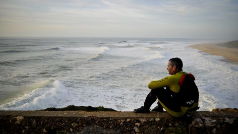 """""""Chasing big waves around the world means you never know where you'll be next -- birthdays, holidays, everything has to be dropped at a second's notice,"""" said McNamara."""