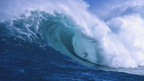 In 2007, McNamara became the first person to ride a glacier wave. But the 45-year-old American is better known for surfing the biggest ocean waves in the world -- including  a reported 30-meter monster off the coast of Portugal earlier this year.