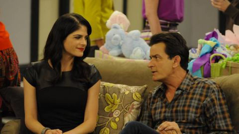 """Selma Blair co-starred with Charlie Sheen on FX's """"Anger Management."""""""