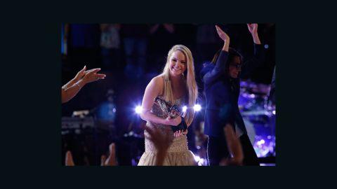"Danielle Bradbery won the fourth season of NBC's ""The Voice"" on June 18."