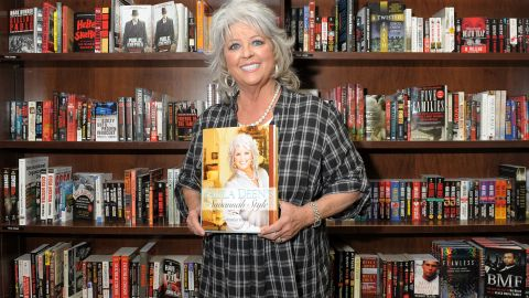"""Deen promotes her new design book """"Paula Deen's Savannah Style"""" at Barnes & Noble Union Square in 2010 in New York."""