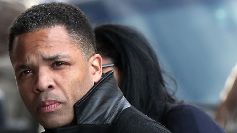 """Jesse Jackson Jr. enters U.S. District Court in Washington on February 20, where he <a href=""""http://news.blogs.cnn.com/2013/02/20/jackson-jr-pleads-guilty-to-misusing-funds/?iref=allsearch"""">pleaded guilty</a>."""